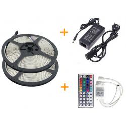 Kompletní 10m LED pásek RGB 5050
