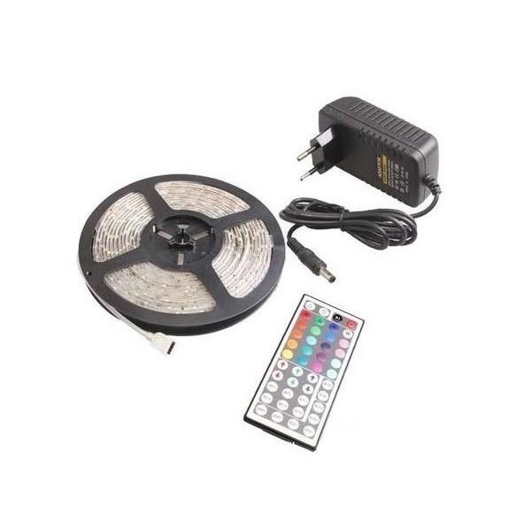 Kompletní 5m LED pásek RGB 3528